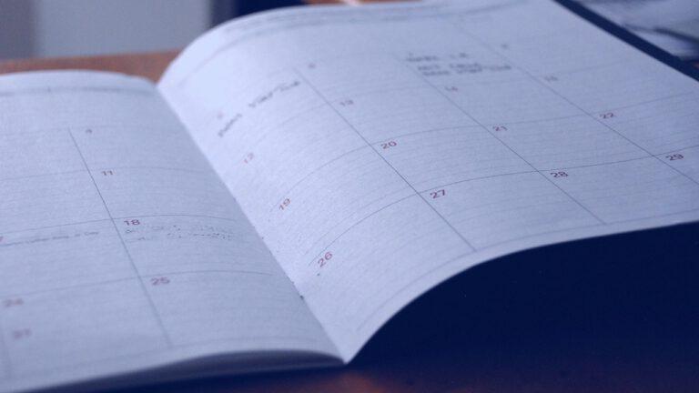 Terminkalender der Chirurgie Mansour