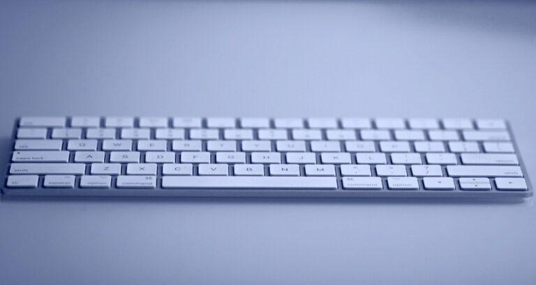 Tastatur zur Kontaktaufnahme